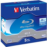 Verbatim BD-R 25GB, 6x, 5pcs in Jewel Cases - Media