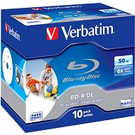 Verbatim BD-R 50GB Dual Layer Printable 6x, 10pcs in box - Media