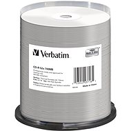 VERBATIM DataLifePlus CD-R 700MB, 52x, Thermal Printable, Spindle 100pcs - Media