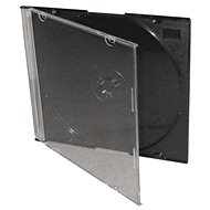 Slim box for 1pcs - black, 5.2mm, pack of 25 pieces - CD Case