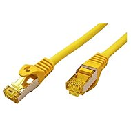 OEM S/FTP patchcable Cat 7, with RJ45 connectors, LSOH, 1m, yellow - Network Cable