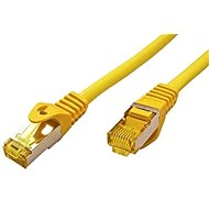 OEM S/FTP patchcable Cat 7, with RJ45 connectors, LSOH, 3m, yellow