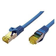OEM S/FTP patchcable Cat 7, with RJ45 connectors, LSOH, 3m, blue - Network Cable