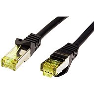 OEM S/FTP patch cable Cat 7, with RJ45 connectors, LSOH, 10m, black - Network Cable