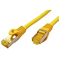 OEM S/FTP patch cable Cat 7, with RJ45 connectors, LSOH, 0.5m, yellow - Network Cable
