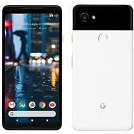 Google Pixel 2 XL 128GB black/white - Mobile Phone