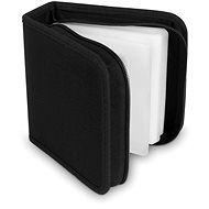 CD/DVD Case COVER IT for 48pcs - NYLON - Black - Pouzdro na CD/DVD
