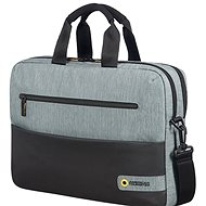 "American Tourister CITY DRIFT LAPTOP BAG 15.6"" BLACK/GREY - Laptop Bag"