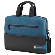 "American Tourister CITY DRIFT LAPTOP BAG 13.3""-14.1"" BLACK/BLUE - Laptop Bag"