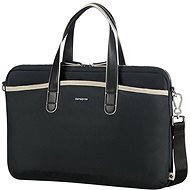 "Samsonite Nefti BAILHANDLE 15.6"" Black/Sand - Laptop Bag"