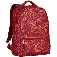 """WENGER COLLEAGUE 16"""", Red Fern Print - Laptop Backpack"""