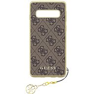 Guess Charms Hard Case 4G Brown pro Samsung G973 Galaxy S10