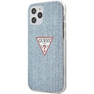 Guess PC/TPU Denim for Apple iPhone 12/12 Pro, Light Blue - Mobile Case