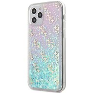 Guess 4G Liquid Glitter for Apple iPhone 12/12 Pro Iridescent - Mobile Case
