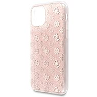 Guess 4G Peony Glitter for iPhone 11 Pro Max, Pink (EU Blister) - Mobile Case