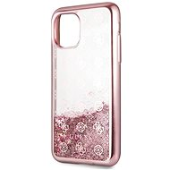 Guess 4G Peony Glitter for Iphone 11 Pro, Max Rose (EU Blister) - Mobile Case