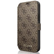 Guess 4G for Apple iPhone 12 Mini, Brown - Mobile Phone Case