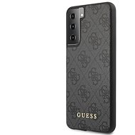 Guess 4G Back Cover for Samsung Galaxy S21+ Grey - Mobile Case