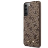 Guess 4G Back Cover for Samsung Galaxy S21+ Brown - Mobile Case