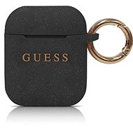 Guess Silicone Cover for Airpod,s Black - Case