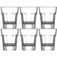 Gürallar ARAS 350ml Glasses, 6 Piece Set - Glass for Cold Drinks