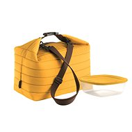 Guzzini Insulated Lunch Bag and Container Set, in yellow
