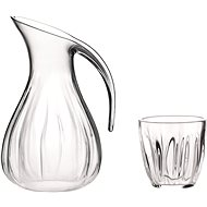 Guzzini Set with Plastic Pitcher of 2l and 6 Cups of 350ml - Pitcher