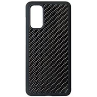 Hishell Premium Carbon for Samsung Galaxy S20, Black - Mobile Case