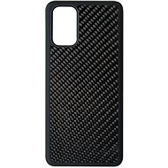 Hishell Premium Carbon for Samsung Galaxy S20+, Black - Mobile Case