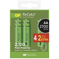 GP Recyko HR6 (AA) 2700mAh 4 + 2pcs - Rechargeable battery