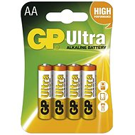 GP Ultra LR6 (AA) 4pcs in blister pack - Disposable batteries