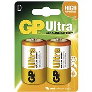 GP Ultra LR20 (D) 2pcs in blister package - Disposable batteries