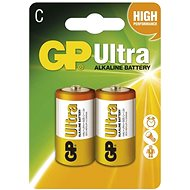 GP Ultra LR14 (C) 2pcs in a blister pack - Disposable batteries