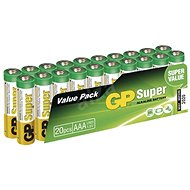 Disposable batteries GP Super Alkaline LR03 (AAA) 20 pcs blister pack - Jednorázová baterie