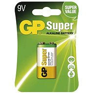 GP Super Alkaline 9V 1pc in blister - Disposable batteries