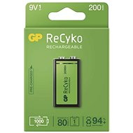 GP ReCyko 200 (9V), 1 pc - Rechargeable Battery