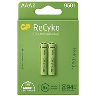 GP ReCyko 1000 AAA Rechargeable Battery (HR03), 2pcs - Rechargeable Battery