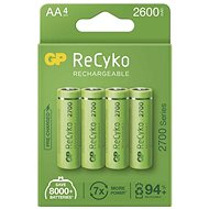 GP ReCyko 2700 AA (HR6), 4 pcs - Rechargeable Battery