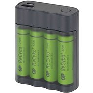 GP Charge AnyWay 2-in-1 4x AA ReCyko - Battery Charger