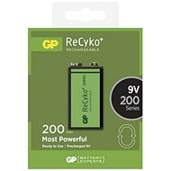 GP Recyko 9V 200mAh, Ni-MH, 1pc - Batteries