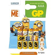 GP LR03 (AAA) MINIONS 4+1 - Disposable batteries