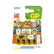 GP LR6 (AA), Limited Edition MINION 4+1 - Disposable batteries