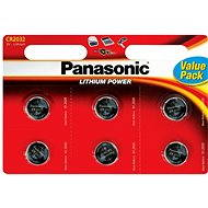 Panasonic CR2032 Blister Battery 6-Pack - Batteries