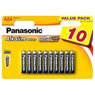 Panasonic AAA Alkaline Power LR03 10pcs - Alkaline battery
