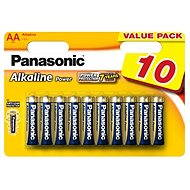 Panasonic AA Alkaline Power LR6 10pcs - Battery