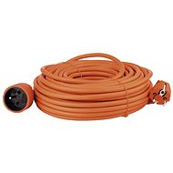 Emos power extension cord 25m, orange - Extension Cable