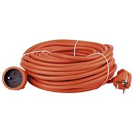 Emos power extension cord 30m, orange - Extension Cable