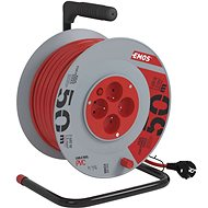 Emos Cord Reel - 4 sockets 50m - Extension Cable