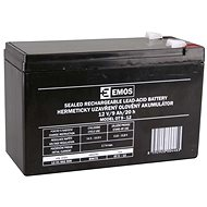 EMOS Maintenance-free Lead-acid Battery 12V/9 Ah, Faston 6.3mm - Rechargeable Battery