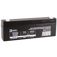 EMOS Maintenance-free Lead-acid Battery 12 V/2.2 Ah, Faston 4.7mm - Rechargeable Battery